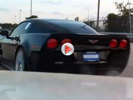 [Vidéo] Mauvaise idée : se filmer en train de malmener une Corvette ZR1 quand on est agent de sécurité de la concession