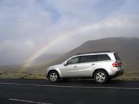 Mercedes GL : essai en Islande, jour 1