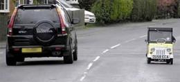 [vidéo] : la plus petite voiture du monde est anglaise (normal)