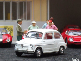 1/43è - FIAT-ABARTH 1000 berlina corsa