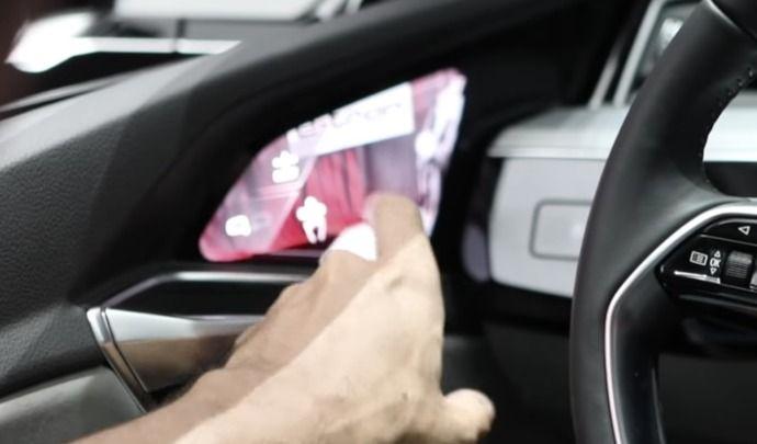 """Voici les """"rétroviseurs caméras"""" de l'Audi e-tron"""