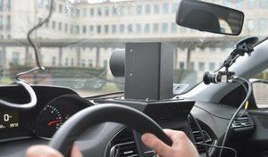 Voitures radar à la recherche de conducteurs