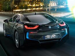 Venez écouter le son de la BMW i8
