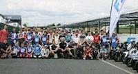 60 pilotes à l'Ecole de Motocyclisme Itinérante FFM au Circuit Carole (93)