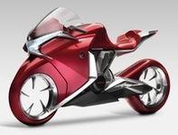 Salon Intermot 2008 : Honda présente son proto V4