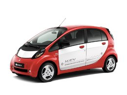 Mitsubishi i-MiEV électrique / Mondial de Paris 2010 : la version européenne exposée