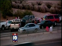 69 véhicules accidentés dans un carambolage en Arizona