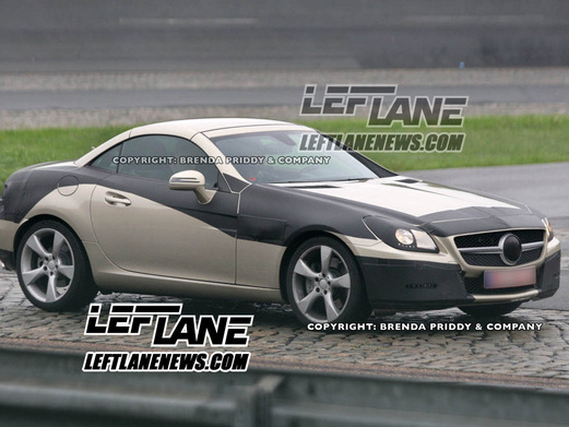 Spyshot : prochaine Mercedes SLK, ça se précise
