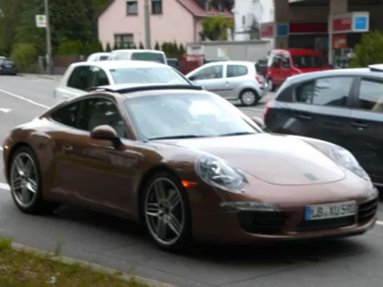 [vidéo] La Porsche 911 type 991 d'encore plus près, la version Targa en question