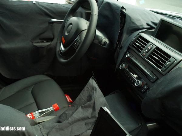 Spyshot : bienvenue à l'intérieur de la prochaine BMW Serie 1