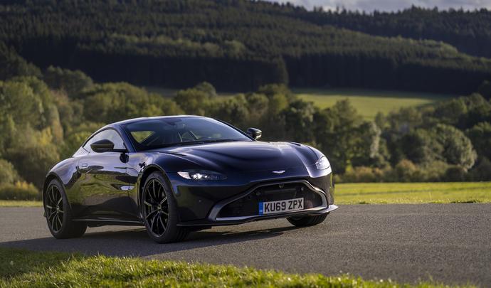 Aston Martin a de quoi voir venir avec le V8 Mercedes