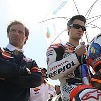 Moto GP - Honda: Puig taille Hayden