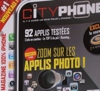 Yacouba + Iphone = magazine Cityphone.