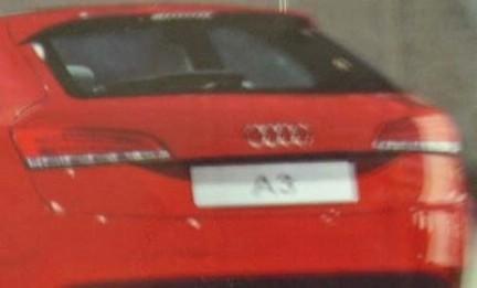 Future Audi A3: 1ère image du style définitif?