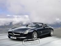 Mercedes SLS AMG Roadster : comme ça, elle est déjà très belle