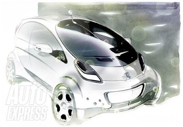 Future Peugeot 1001: plutôt comme ça