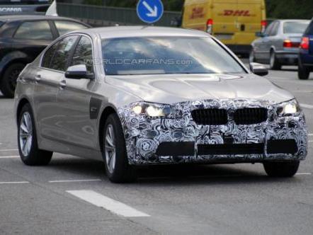 Le restylage de la BMW Série 5 en préparation
