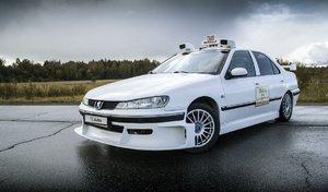 Une réplique de la Peugeot 406 du film Taxi 2 à vendre 3150 €