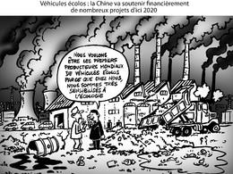 Le dessin du jour – La Chine : écolo ?