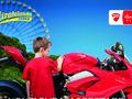Ducati: la première pierre du parc d'attractions est posée.