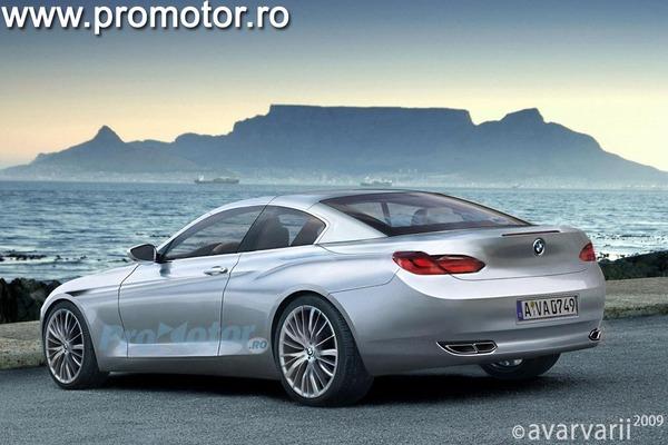 Future BMW Série 6: comme ça pour tout changer?