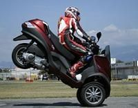 Piaggio MP3: Point de chute ?