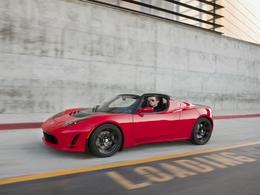 Mondial de Paris 2010 : le nouveau Tesla Roadster 2.5