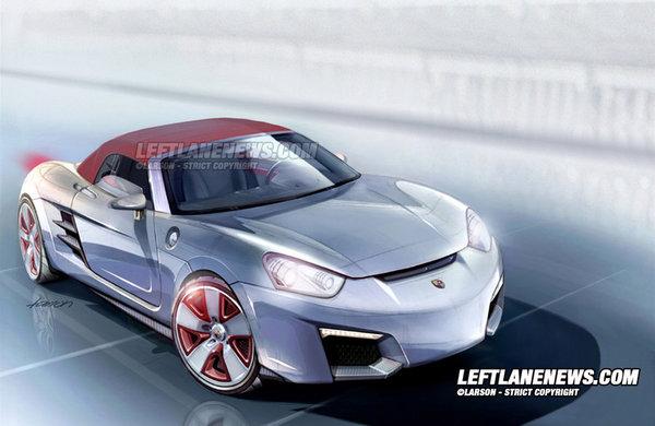 Pas de petit roadster sur base VW BlueSport pour Porsche