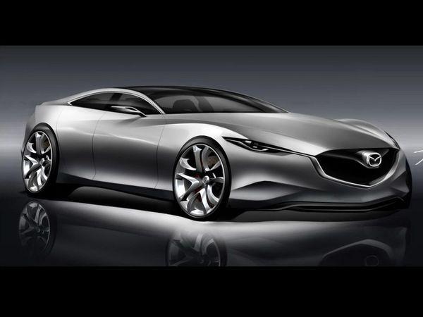 Mondial 2010 : toutes les images HD du concept Mazda Shinari