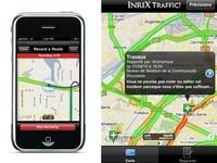 INRIX Traffic! une application d'info trafic gratuit sur iPhone et Android