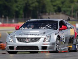 Cadillac CTS-V Coupé: une 1ère victoire