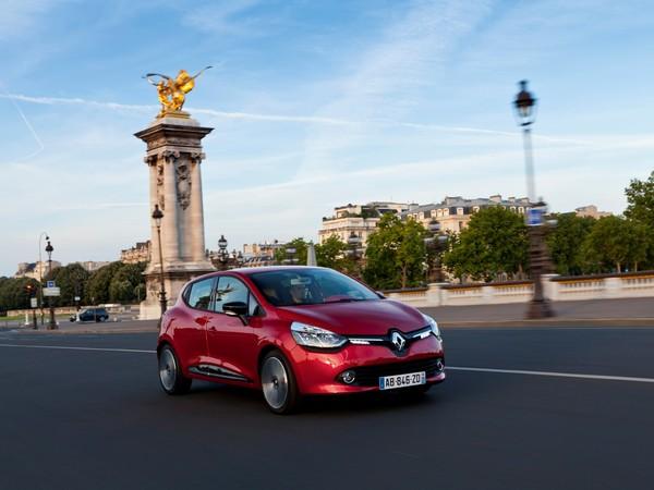 "La Renault Clio 4 ""volant d'or 2012"""