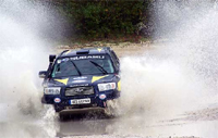 Le Subaru Forester paré pour le Dakar 2008