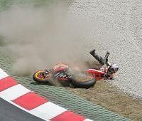 Moto GP: Pedrosa, les dégâts