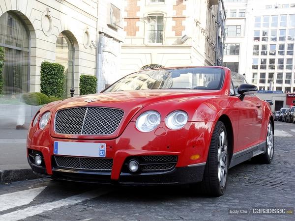 Photos du jour : Bentley Continental GTC