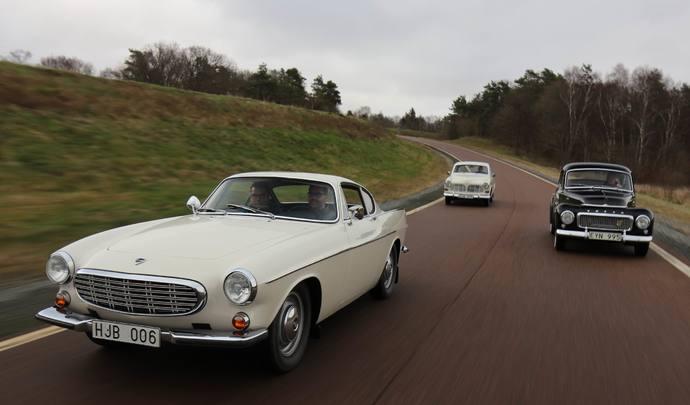 Road-trip Volvo en Suède: trois modèles historiques à l'essai (reportage vidéo)