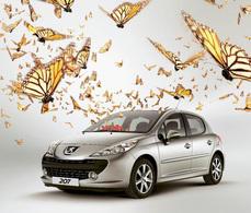 La Peugeot 207 honorée par le Japon !
