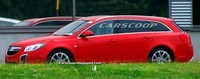 Spyshot : l'Opel Insignia Sports Tourer OPC completement nue
