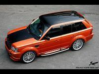 Range Rover Sport Pace Car by Project Kahn