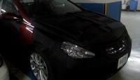 Spyshot : la future Hyundai Sonata se cache dans un parking