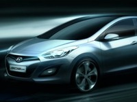Salon de Francfort 2011 - Hyundai i30: 1er sketch officiel