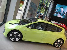 Mondial de Paris 2010 : le Concept hybride Toyota FT-CH