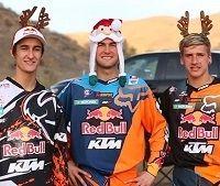 Vidéo - TT : les KTM Boys vous souhaitent un Joyeux Noël