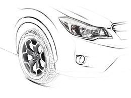 Salon de Francfort 2011 - Subaru XV: ça tease