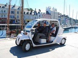 Eco-tourisme : des véhicules électriques Matra expérimentés à Belle-Ile-en-Mer