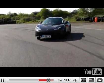 [vidéos] : premiers essais de la Lotus Evora