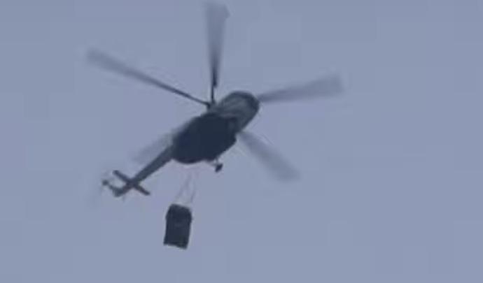 Déçu, il jette son Mercedes-AMG G63 depuis un hélicoptère