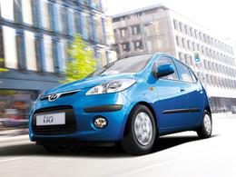 Mondial de Paris 2010 : la Hyundai i10 restylée émettant  99 g CO2/km