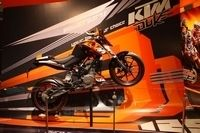 La KTM 125 Duke a son site officiel