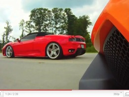 Underground Racing : Ferrari F430 biturbo 1200ch vs Gallardo LP570, sans surprise